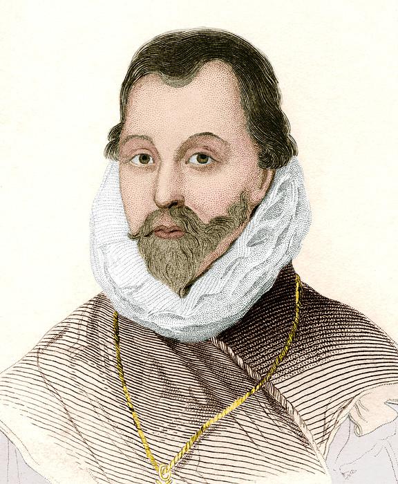 Sir Francis Drake, English Explorer Print by Sheila Terry