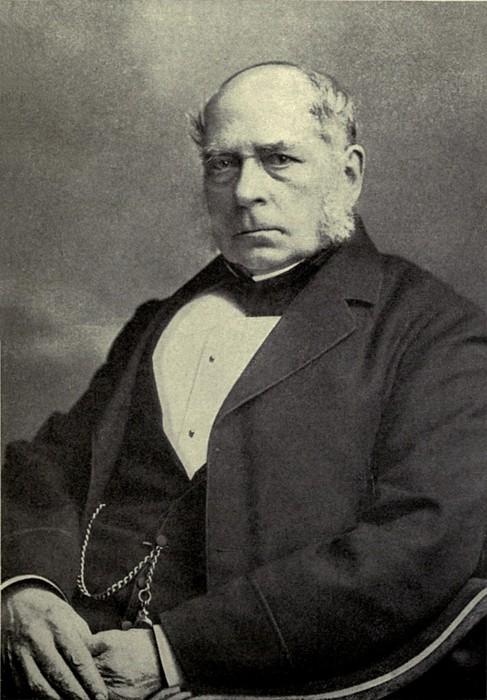 Sir Henry Bessemer 1813-1898, A British Print by Everett