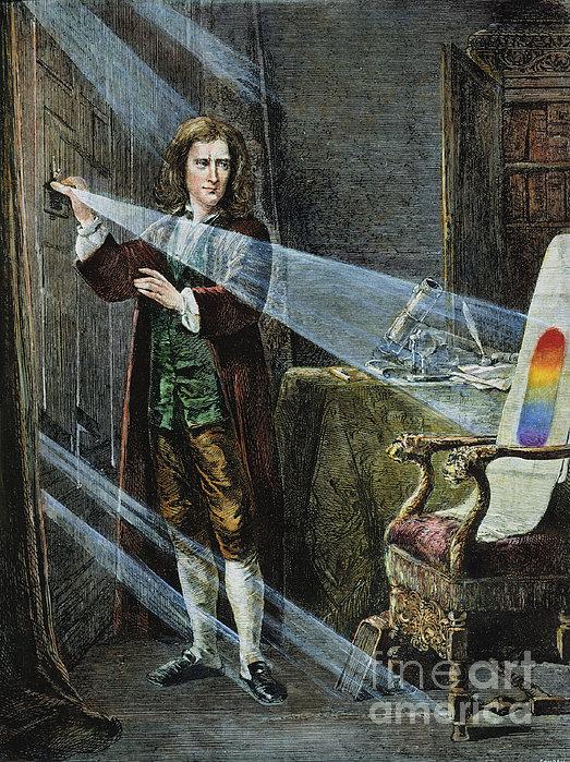 Sir Isaac Newton Print by Granger