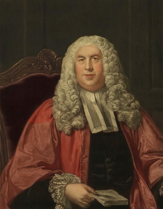 Sir William Blackstone 1723-1780 Print by Everett