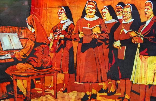 Sisters Print by Kelly McNeil