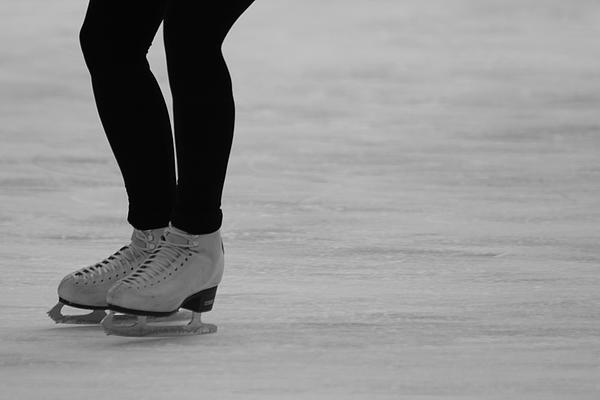 Skating II Print by Lauri Novak