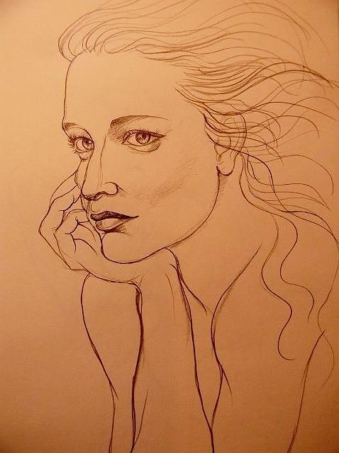 Deliara Yesieva - Sketch Of A Woman