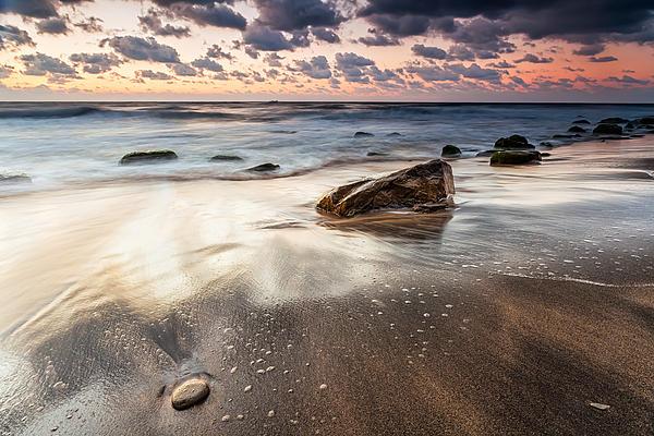 Sky In The Sands Print by Evgeni Dinev
