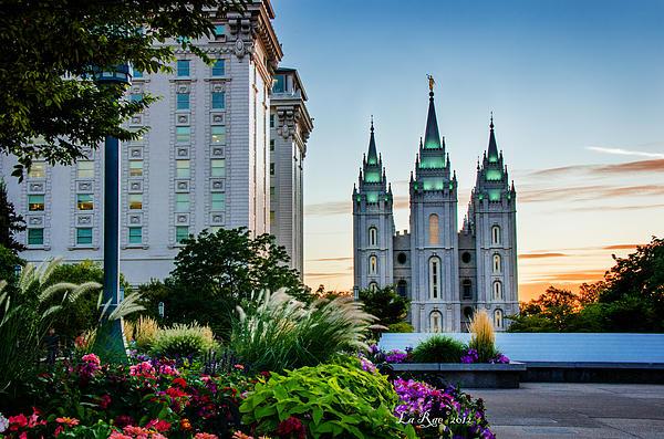 La Rae  Roberts - SlC Temple JS Building