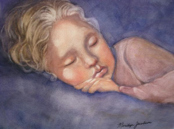 Sleeping Beauty Painting