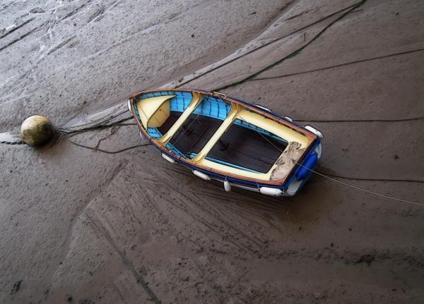 Small Boat Print by Svetlana Sewell