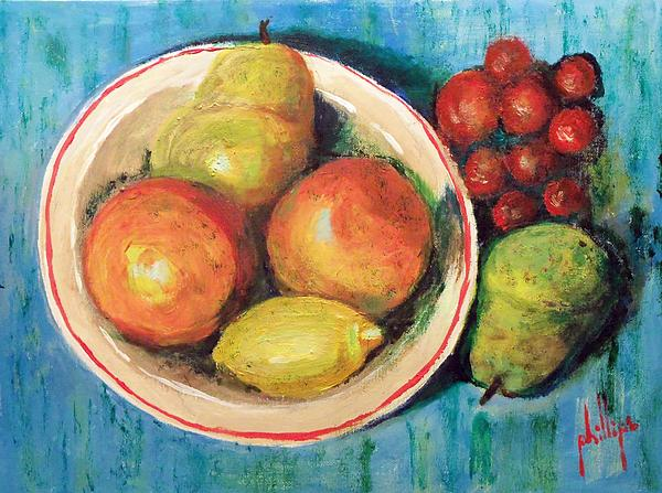Jim Phillips - Small Bowl of Fruit