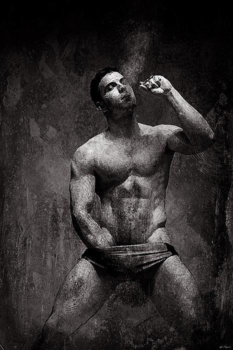 Yosi Cupano - Smoking man