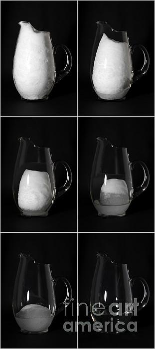 Snow Melting Print by Ted Kinsman