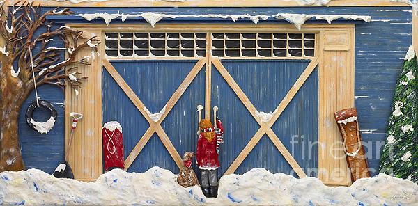 Snowed In Print by Anne Klar