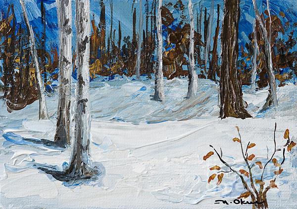 Nicole Okun - Snowy Woods