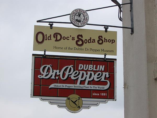 Dionne Foley - Soda shop sign