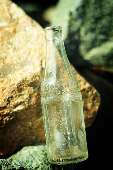 Soda Water Print by Rebecca Sherman