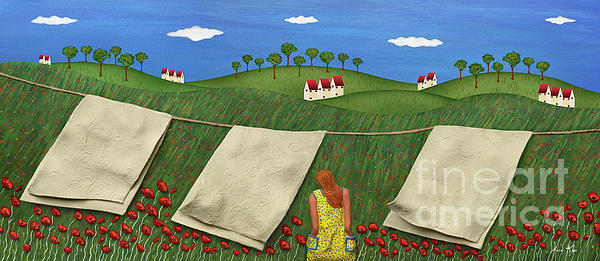 Soft Breeze Print by Anne Klar