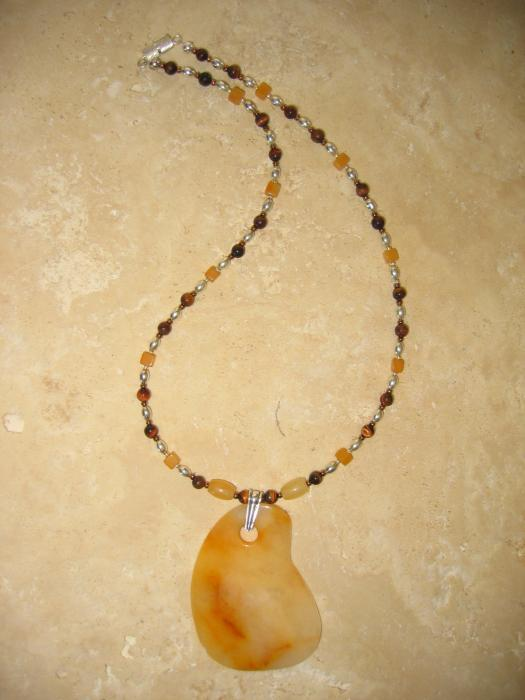 Solar Plexus Necklace Jewelry 