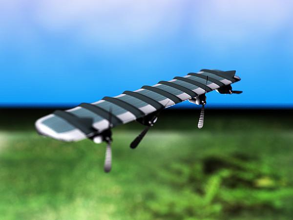 Solar Powered Aeroplane, Artwork Print by Christian Darkin
