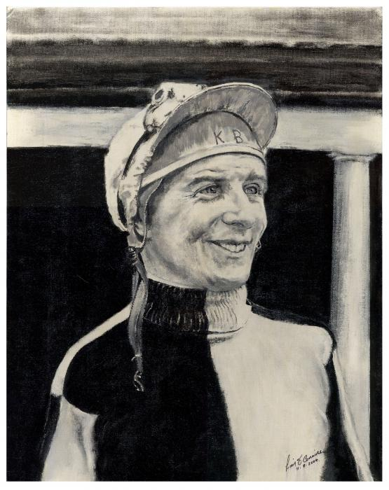 Liam O Conaire - SOLD  Portrait of a Winner