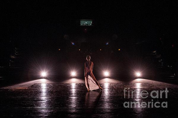 Solo Dance Performance Print by Scott Sawyer