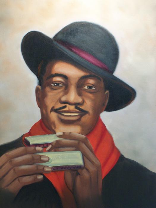 Sonny Boy Williamson Painting  - Sonny Boy Williamson Fine Art Print