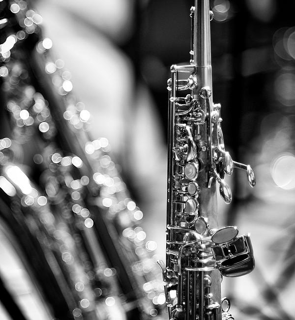 Soprano Saxophone Print by © Rune S. Johnsson