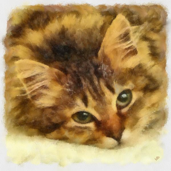 Soulful Eyes Painting  - Soulful Eyes Fine Art Print