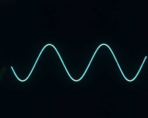 Sound Wave Print by Andrew Lambert Photography