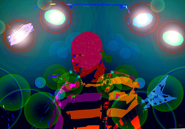 Sound Waves Print by David Lee Thompson