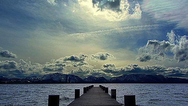 South Lake Tahoe Print by Brad Scott