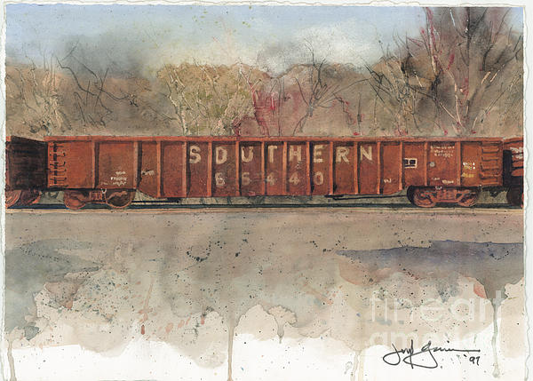 Jerry Grissom - Southern Rail Hopper Car