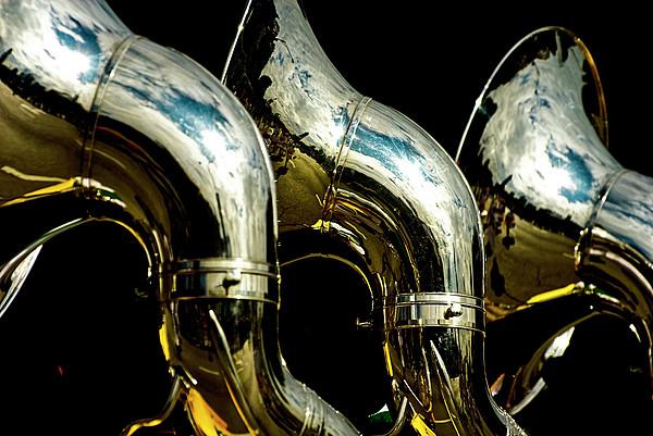 Souzaphones On Parade Print by by Ken Ilio