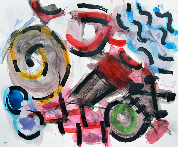 Soy Marino Print by Miguel Sevillano