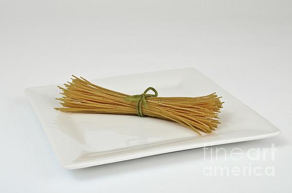 Soybean Spaghetti Print by Photo Researchers