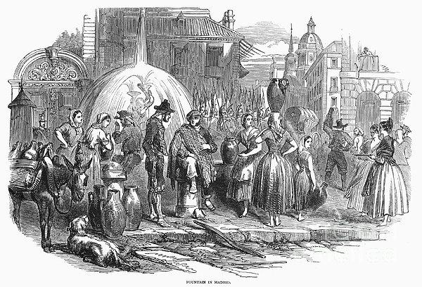 Spain: Madrid, 1848 Print by Granger