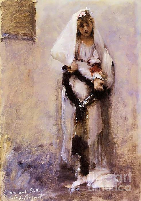 Pg Reproductions - Spanish Beggar Girl