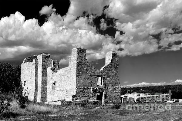 Christine Till - Spanish Mission ruins of Quarai NM