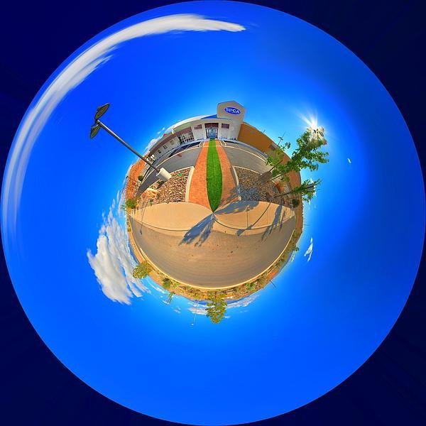 Spca Planet Print by Vincent Cascio