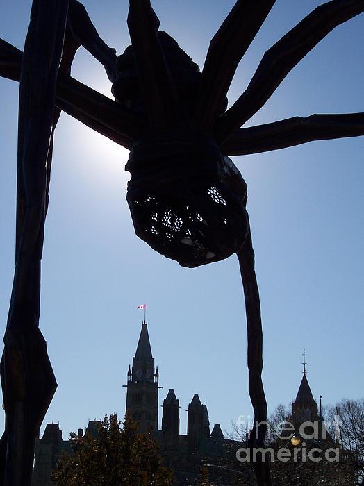 First Star Art  - Spider Attacks Parliament