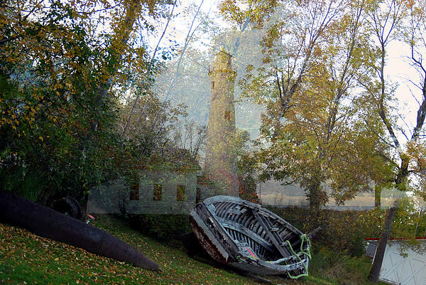 Spirit Of The Lighthouse Print by Gerry Buckel
