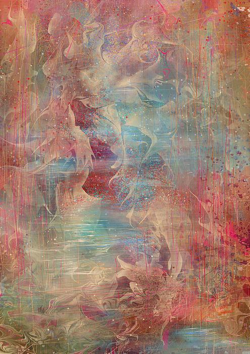 Spirit Of The Waters Print by Rachel Christine Nowicki