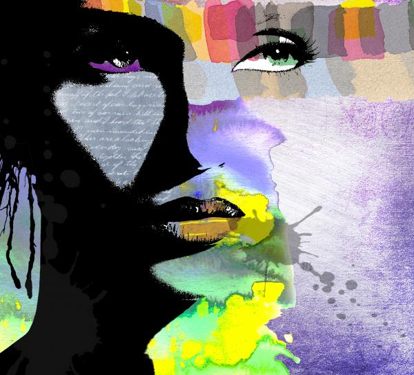 Spirit Print by Ramneek Narang