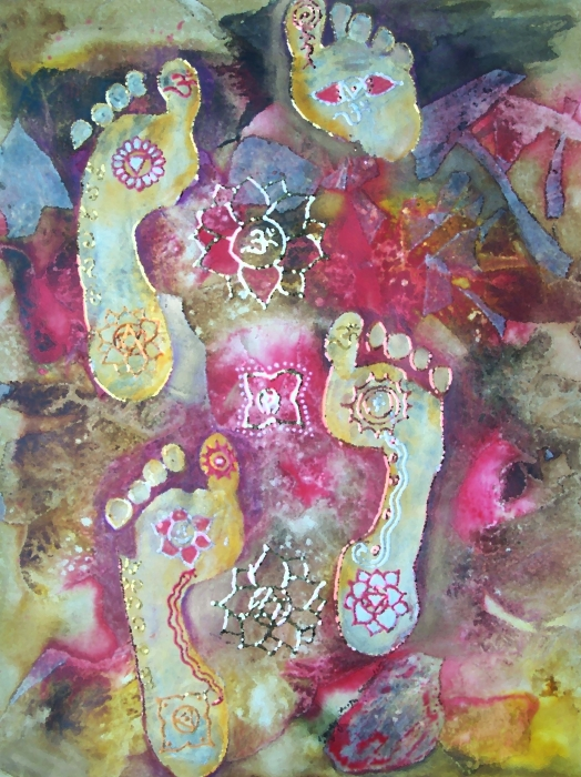 Spiritual Awakening Print by Vijay Sharon Govender