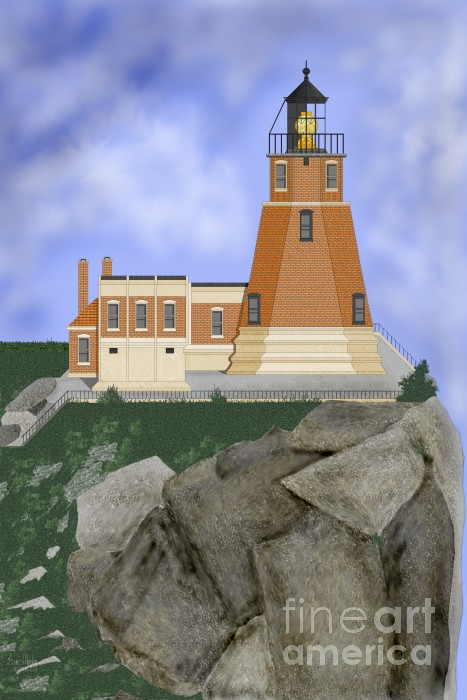 Anne Norskog - Split Rock Lighthouse on the Great Lakes