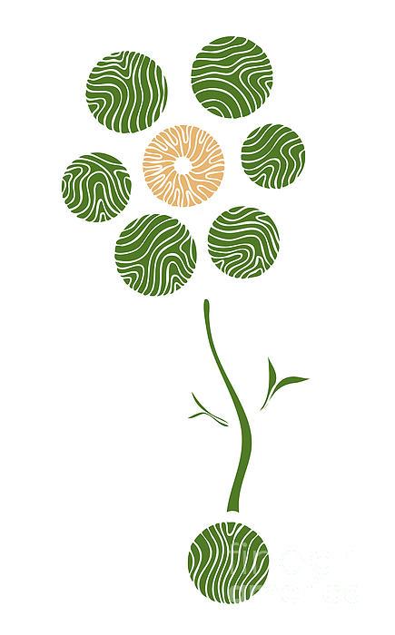 Spring Flower Print by Frank Tschakert