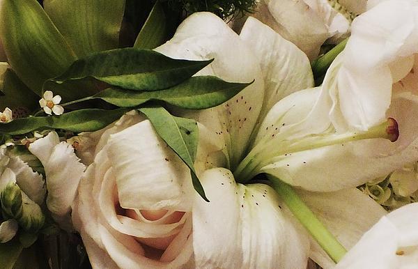 Spring Flowers Print by Anna Villarreal Garbis