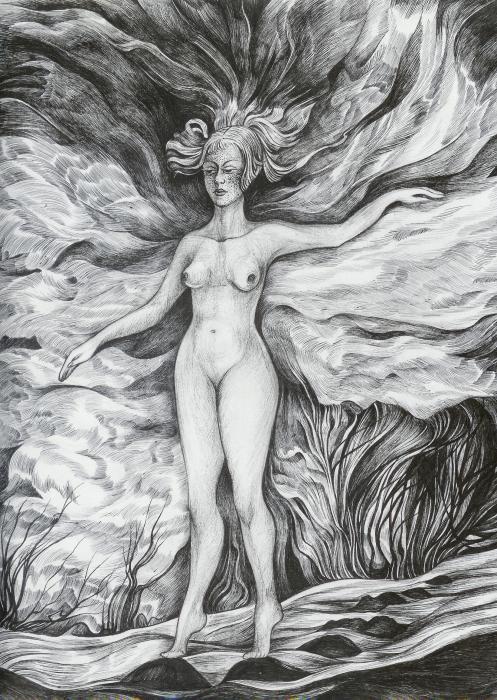 Spring II Print by Anna  Duyunova