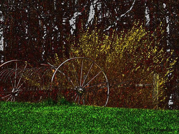 Spring In The Country Print by Debra     Vatalaro
