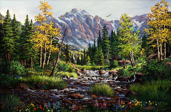 W  Scott Fenton - Springtime in the Rockies
