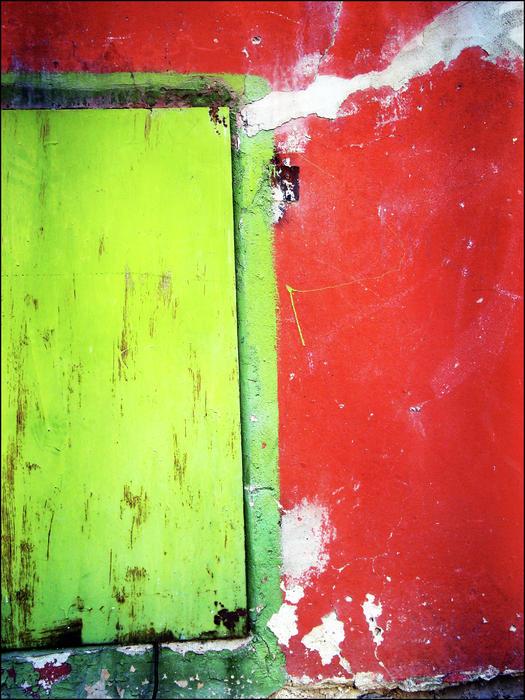 Square Watermelon Print by Inessa Burlak