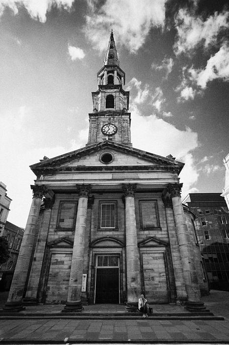 St Andrew And Saint George Church George Street Edinburgh Scotland Uk United Kingdom Print by Joe Fox